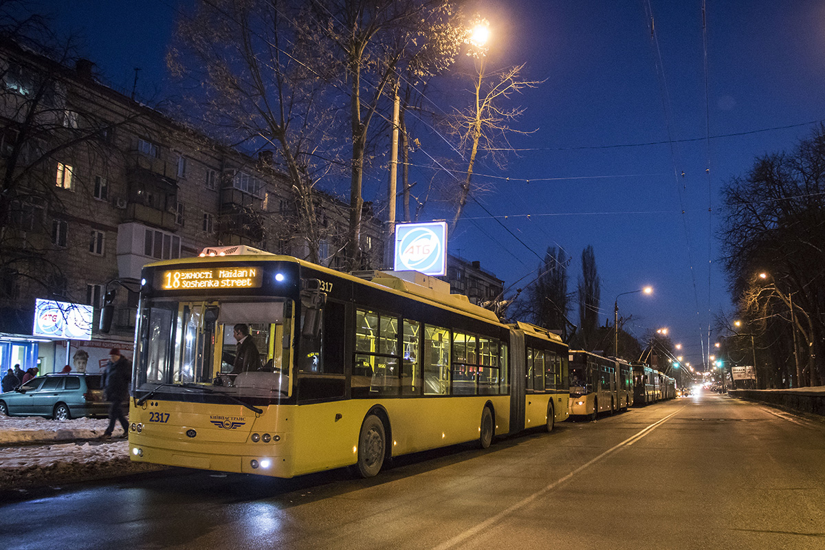 Из-за акции протеста остановилось движение троллейбусов