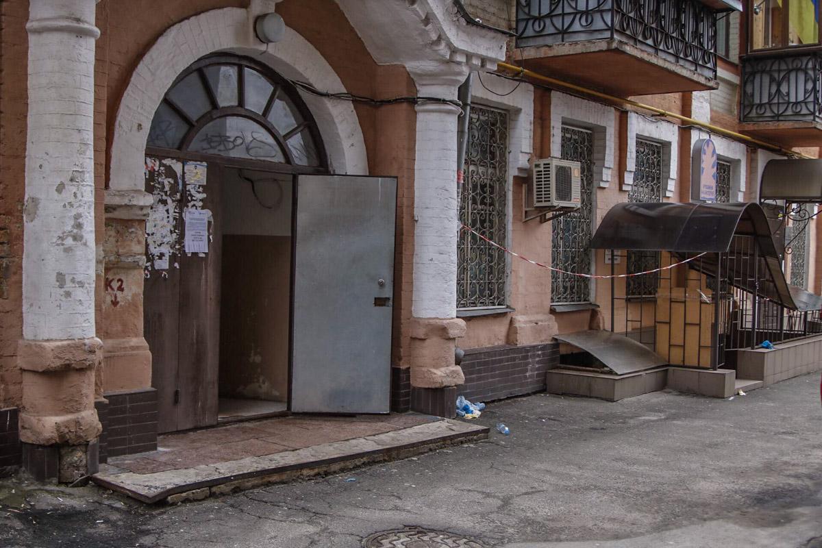 Убийство произошло на улице Константиновской