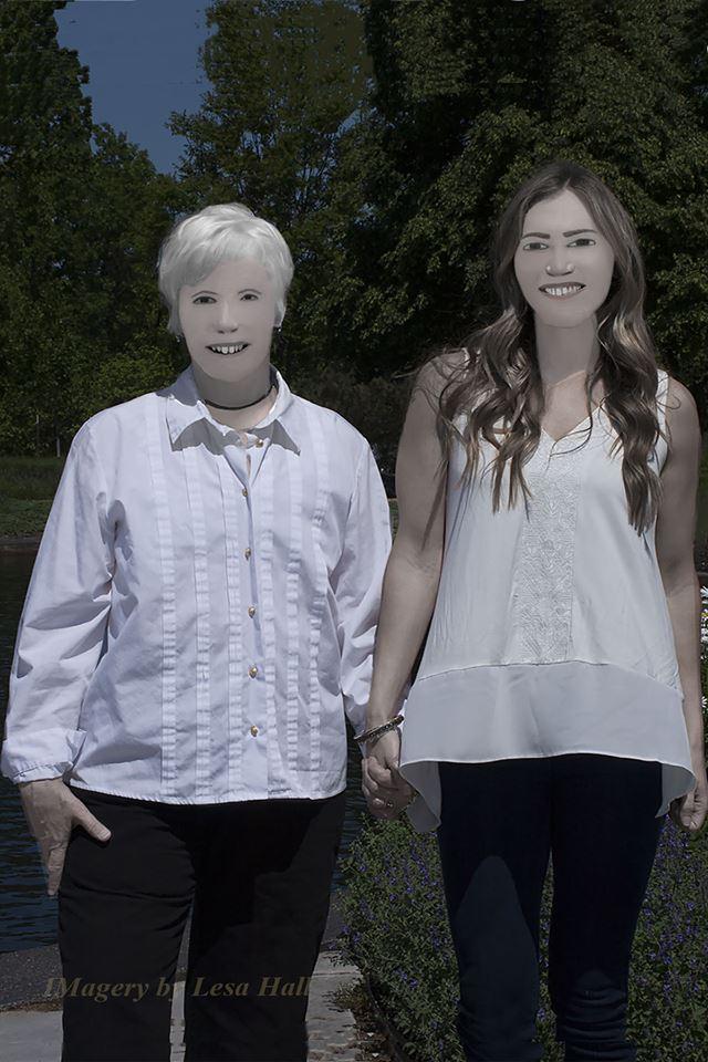 Члены семьи больше похожи на инопланетян в человеческих масках, чем на людей