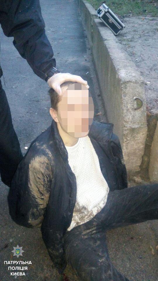 Патрульные задержали злоумышленника, который напал на несовершеннолетних