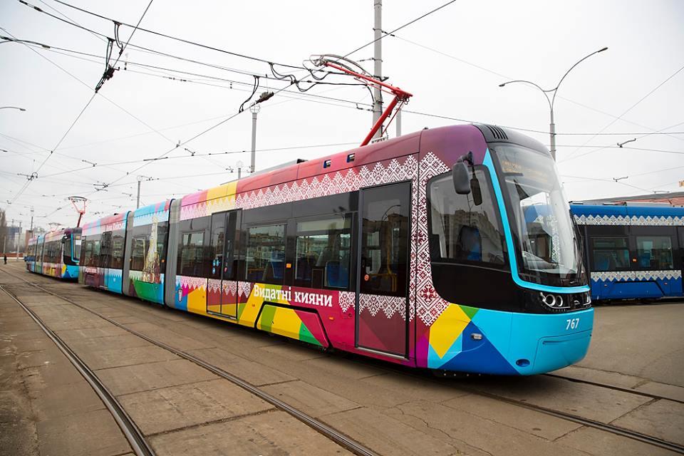 Так выглядит новый скоростной трамвай, который будет курсировать по Киеву