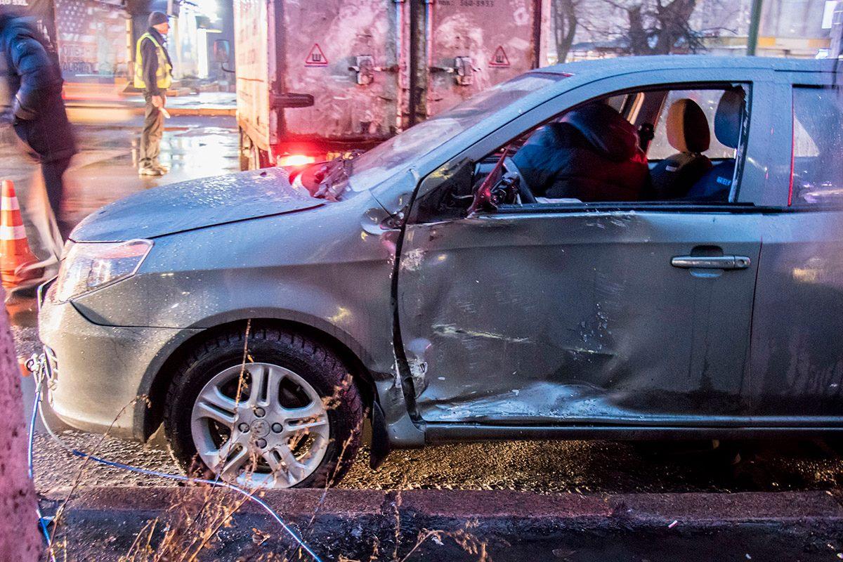 Водитель Geely не признавался, что был за рулем
