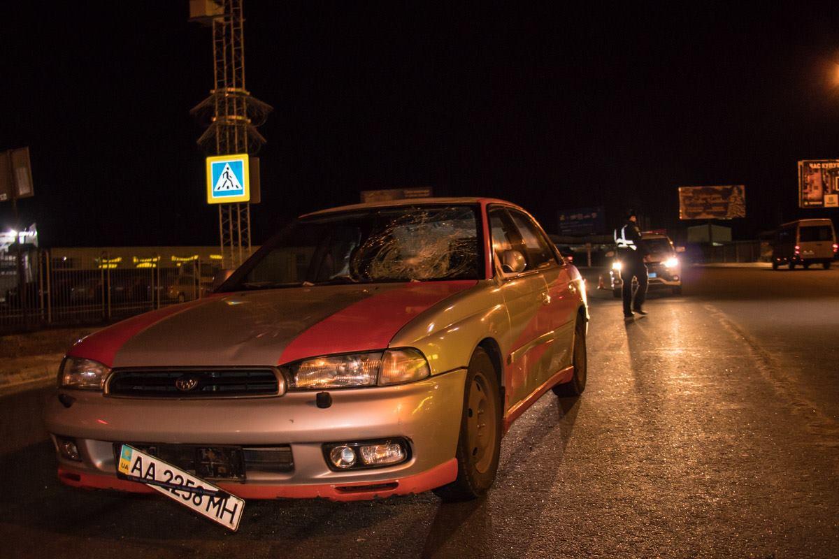 ДТП произошло на улице Киевская