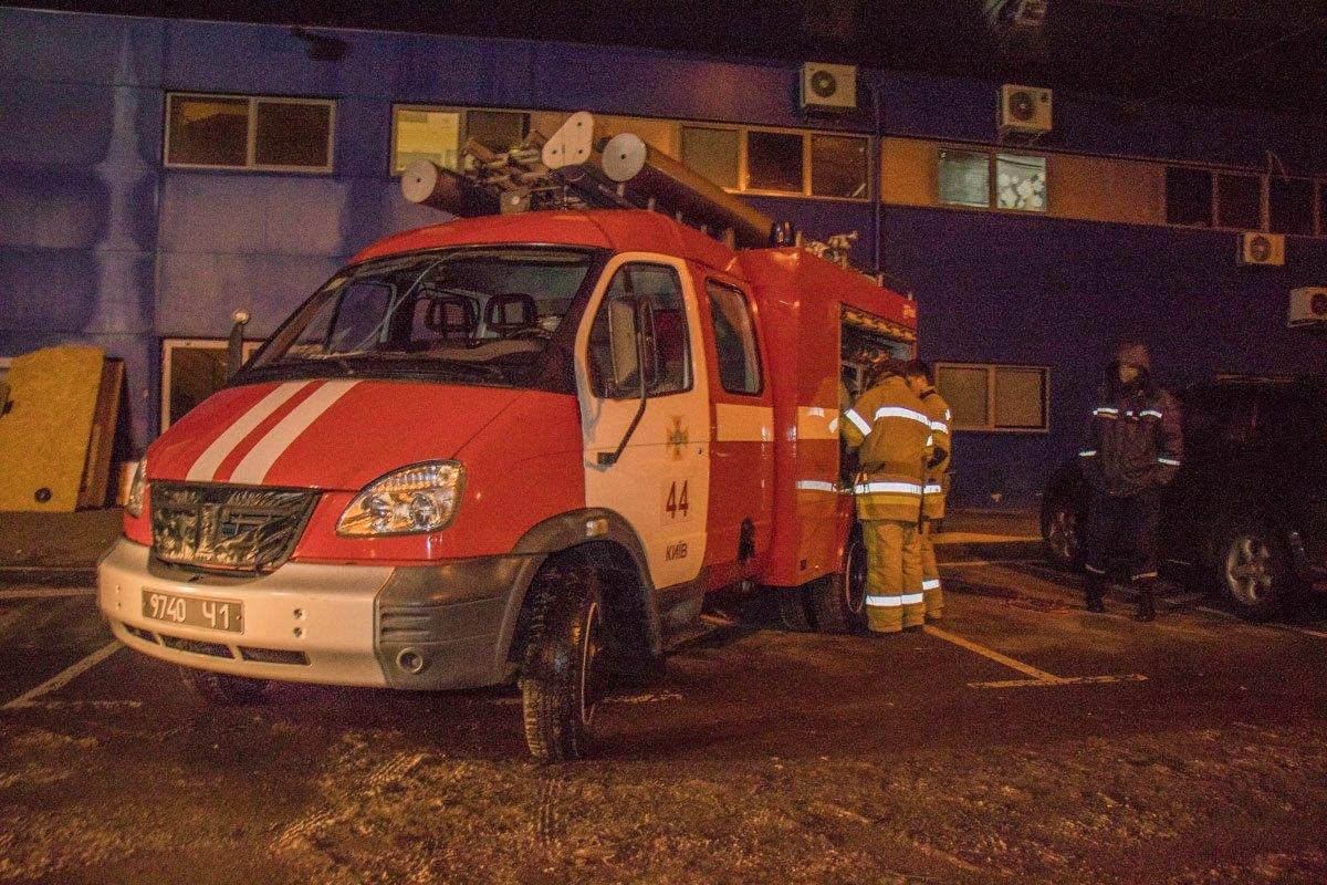 Пожарные сработали оперативно