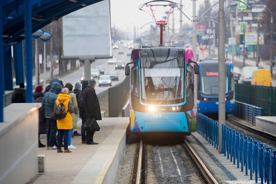 Прокатится на новом скоростном трамвае в Киеве может каждый