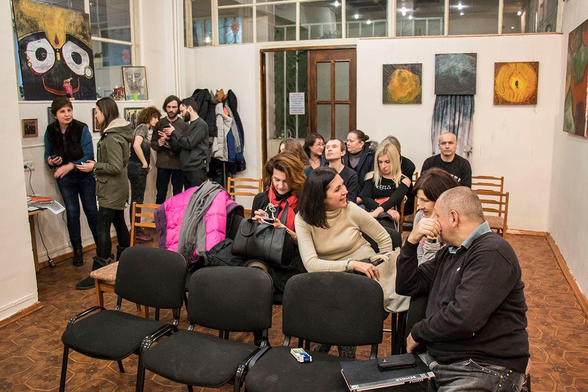 Зрители активно принимали участие в обсуждении картин