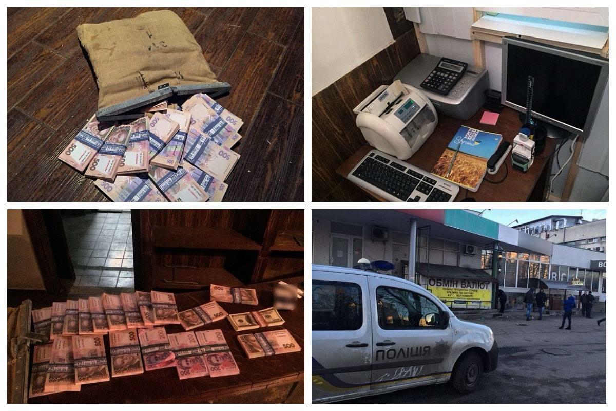 Кассир фальшивого обменника пытался украсть 45 тысяч долларов