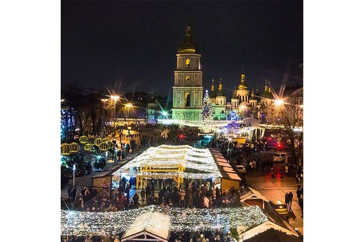 Праздничная Софийская площадь, фото: mysokol