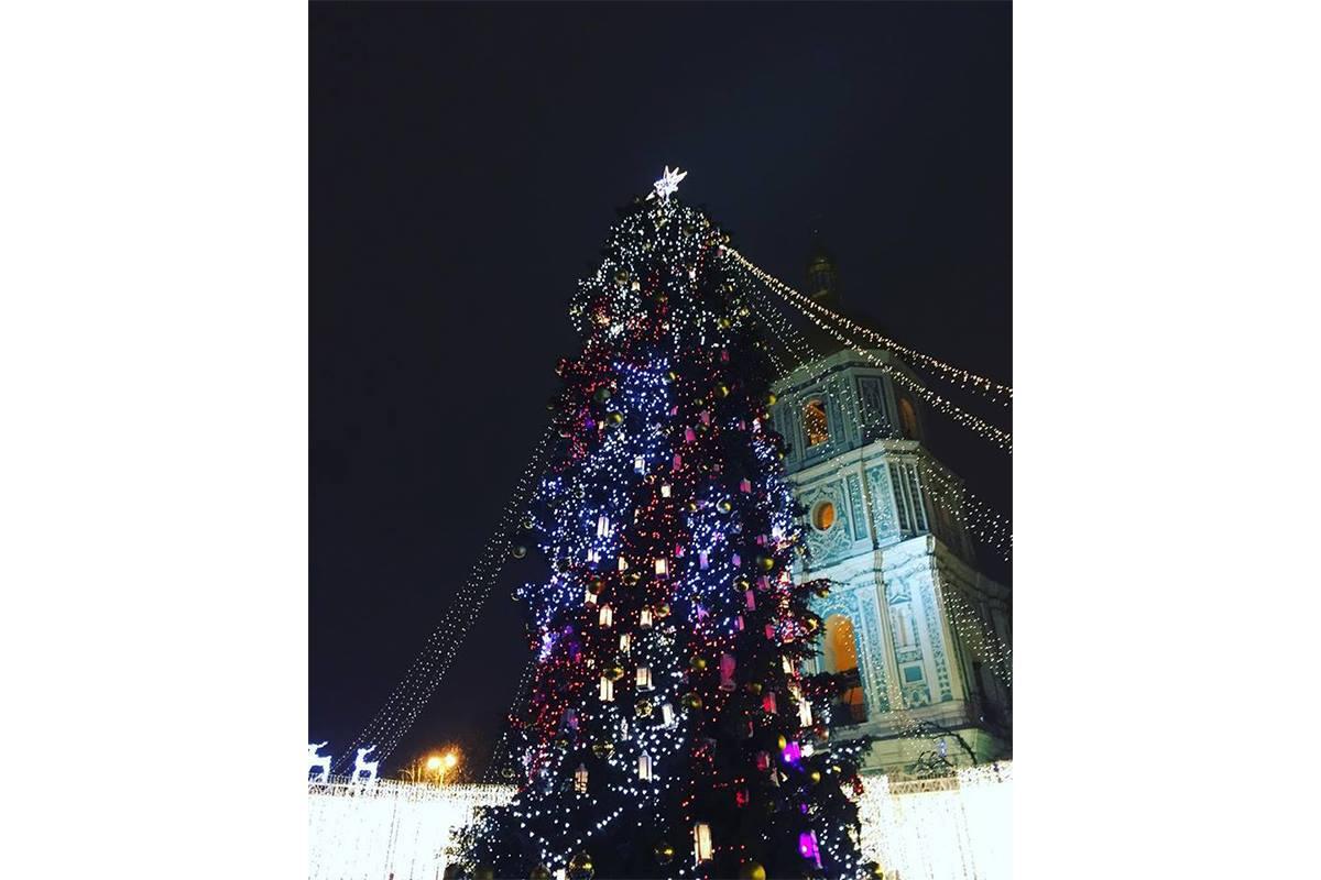Главная елка страны на Софийской площади, фото: sashasylph