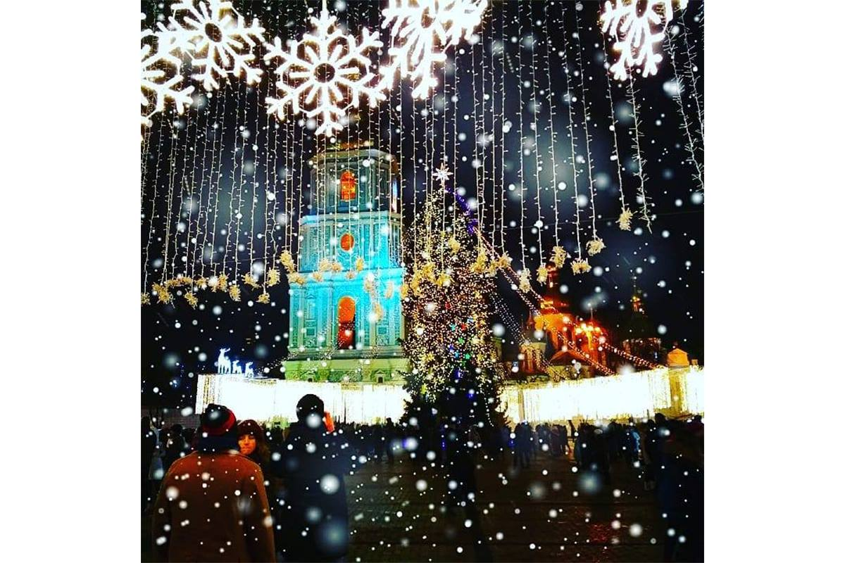 Идеальная зима на Софийской площади, фото: oleksandra_romashkova_91