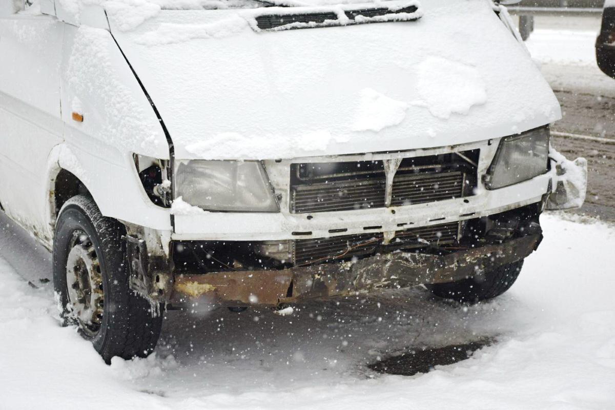 Повреждения у машин незначительны