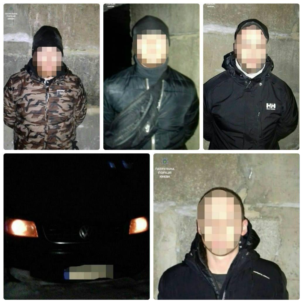 Патрульные задержали подозреваемых