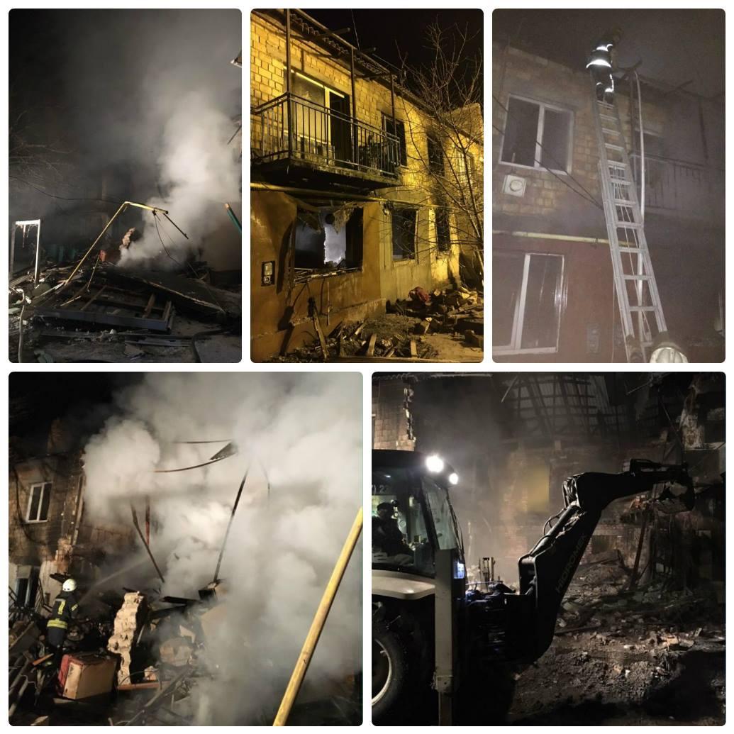 В Киевской области прогремел взрыв в жилом доме