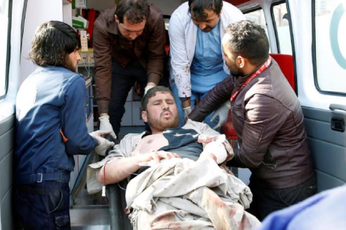 Во время теракта в Кабуле пострадали около 80 человек