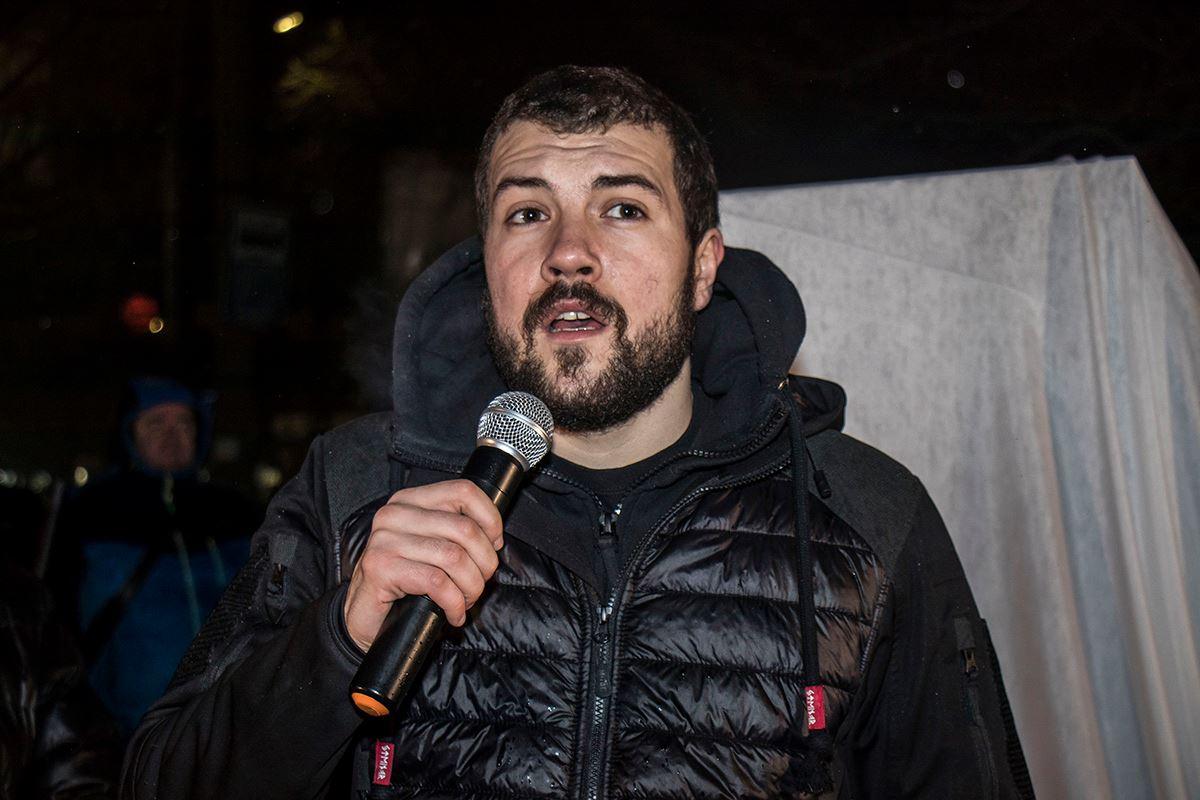 Руководитель штаба партии «Национальный корпус» Родион Кудряшов