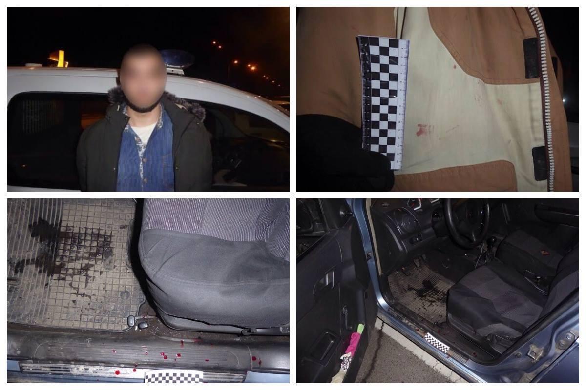 На Столичном шоссе двое парней напали на таксиста