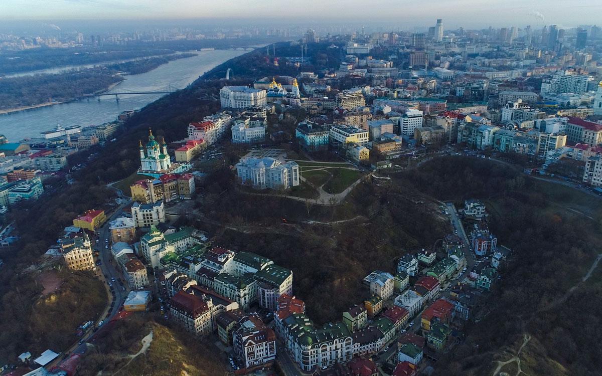 Жилой микрорайон Воздвиженка самый красивый и дорогой в Киеве