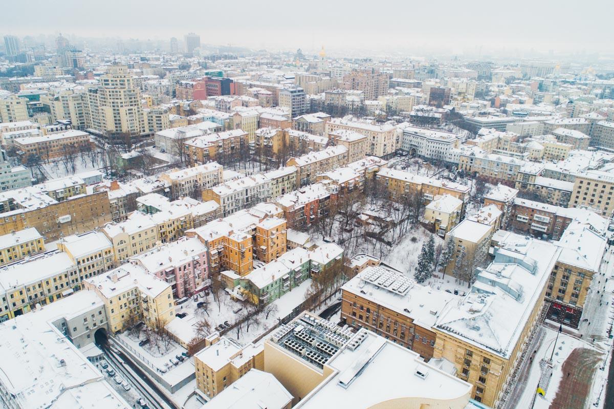 Снегопады в Киеве продолжатся завтра и послезавтра