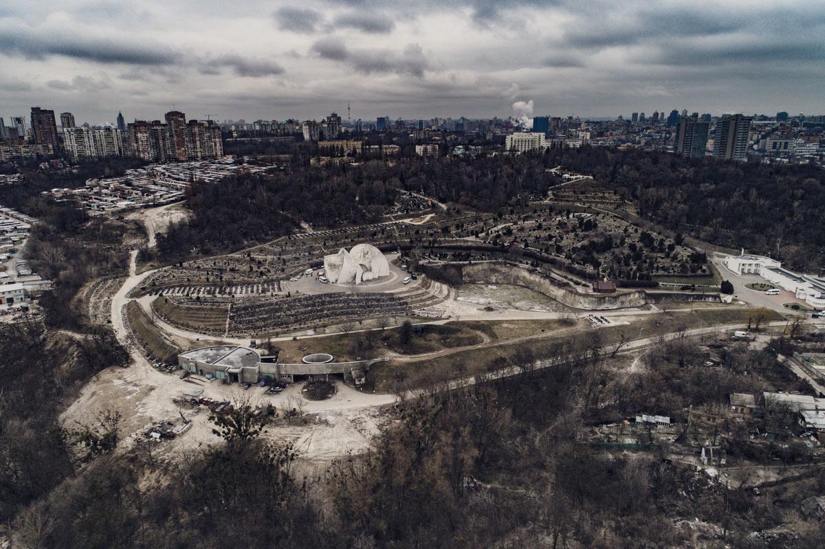 Киев, как на ладони
