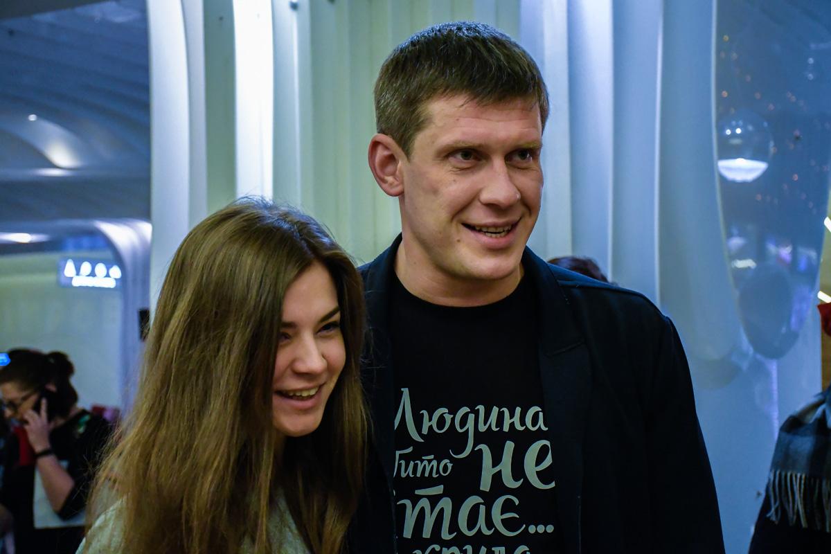 Алексей Тритенко со своей девушкой Александрой