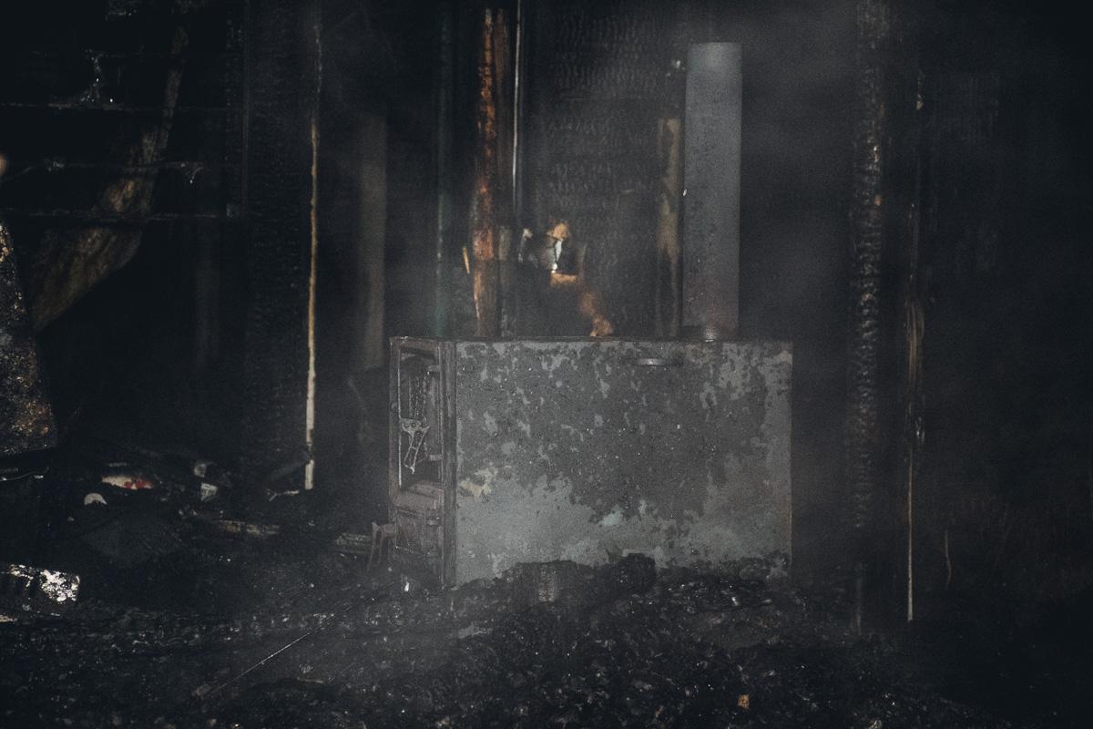 Та самая печка, которая стала причиной пожара в жилом доме