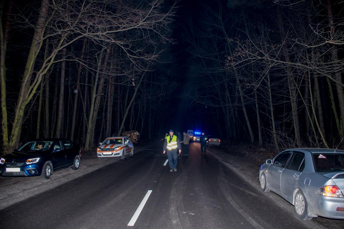 Водители очевидцы подчеркивают, что на данном участке дороги очень плохое освещение