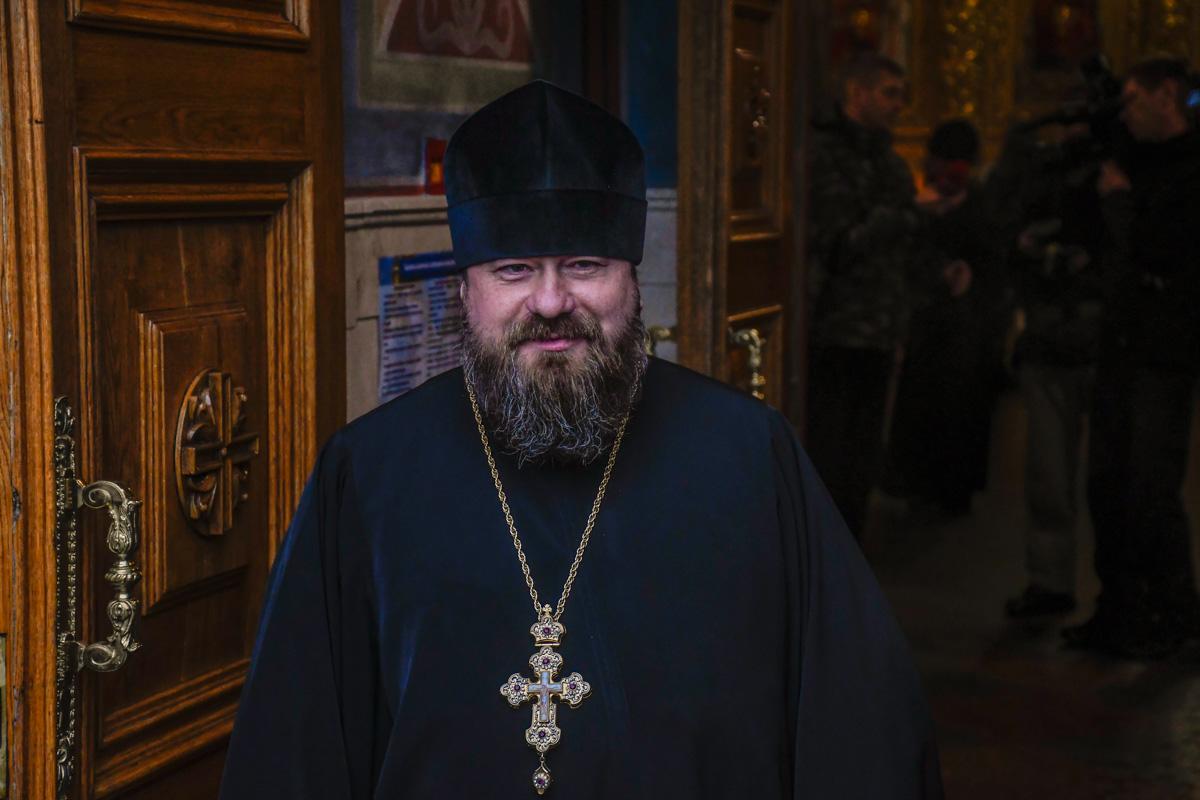 Священнослужитель Михайловского собора
