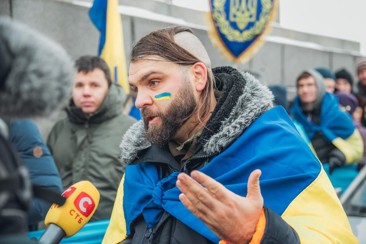 Инициатор акции Вадим Васильчук