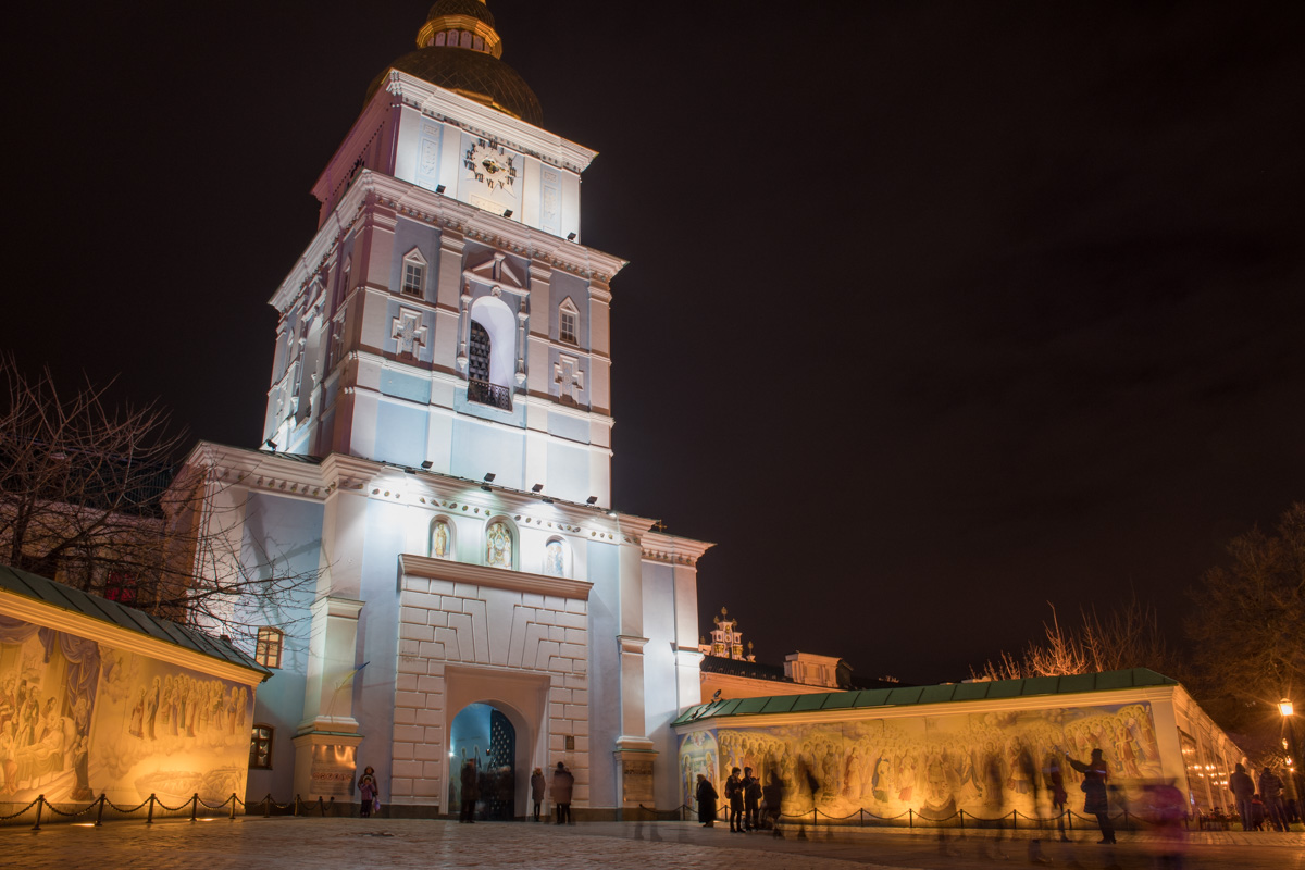 В колокольне Михайловской церкви, поговаривают, исполняются желания