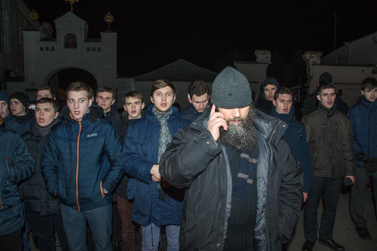Священнослужители Московского патриархата пели колядки на украинском языке