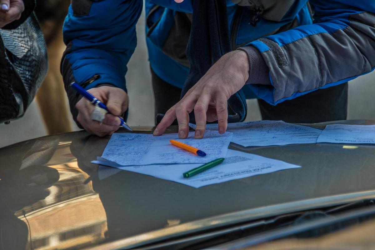 Активисты пишут коллективное обращение прокурору Святошинской районной прокуратуры