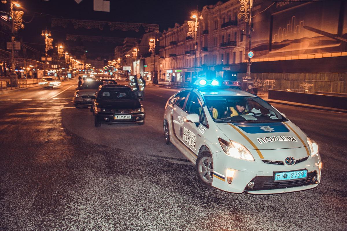 К месту аварии уже выехала полиция