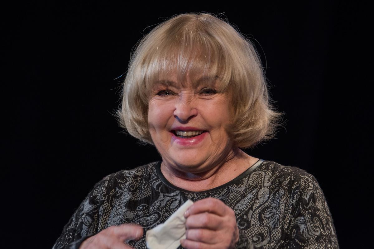 Ада Роговцева вырвалась со съемок, чтобы посетить мероприятие