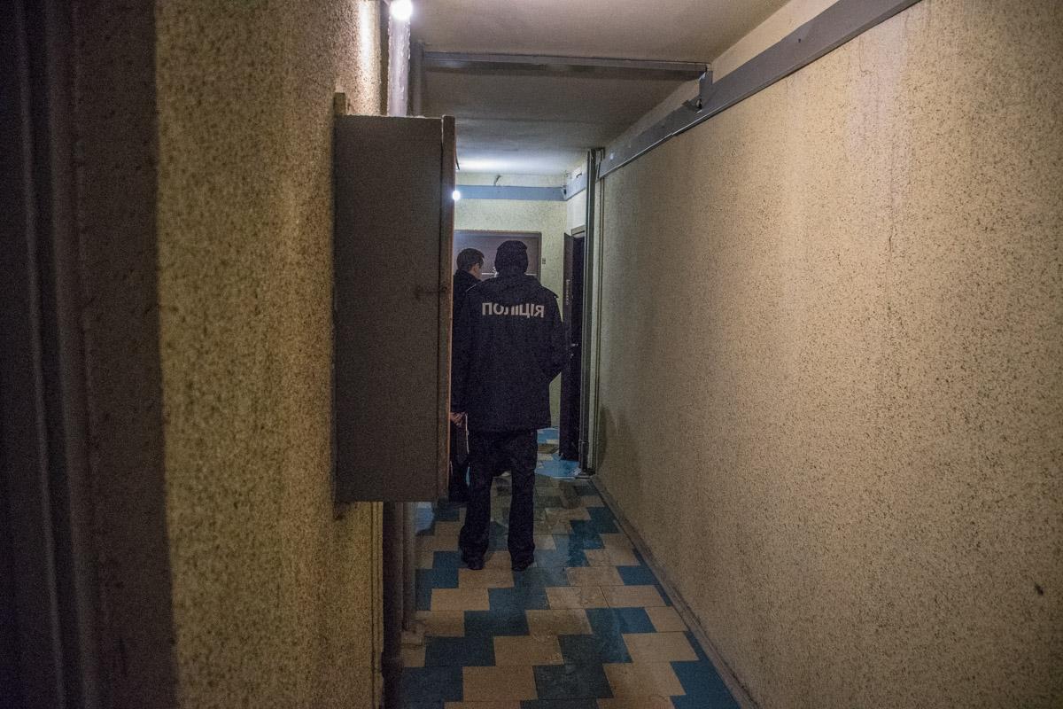 Горела квартира на десятом этаже