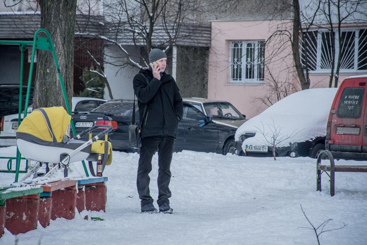 Местные жители говорят, что погибший был пьющим человеком