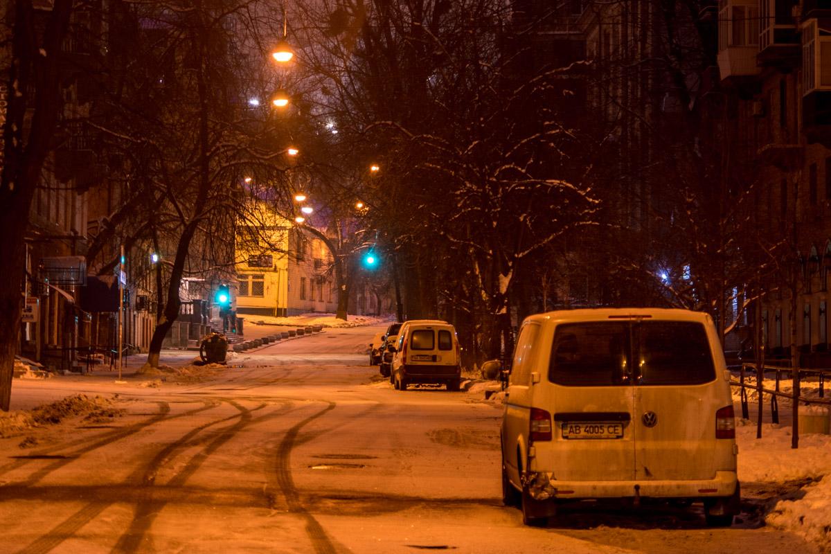 Улицы города на время опустели