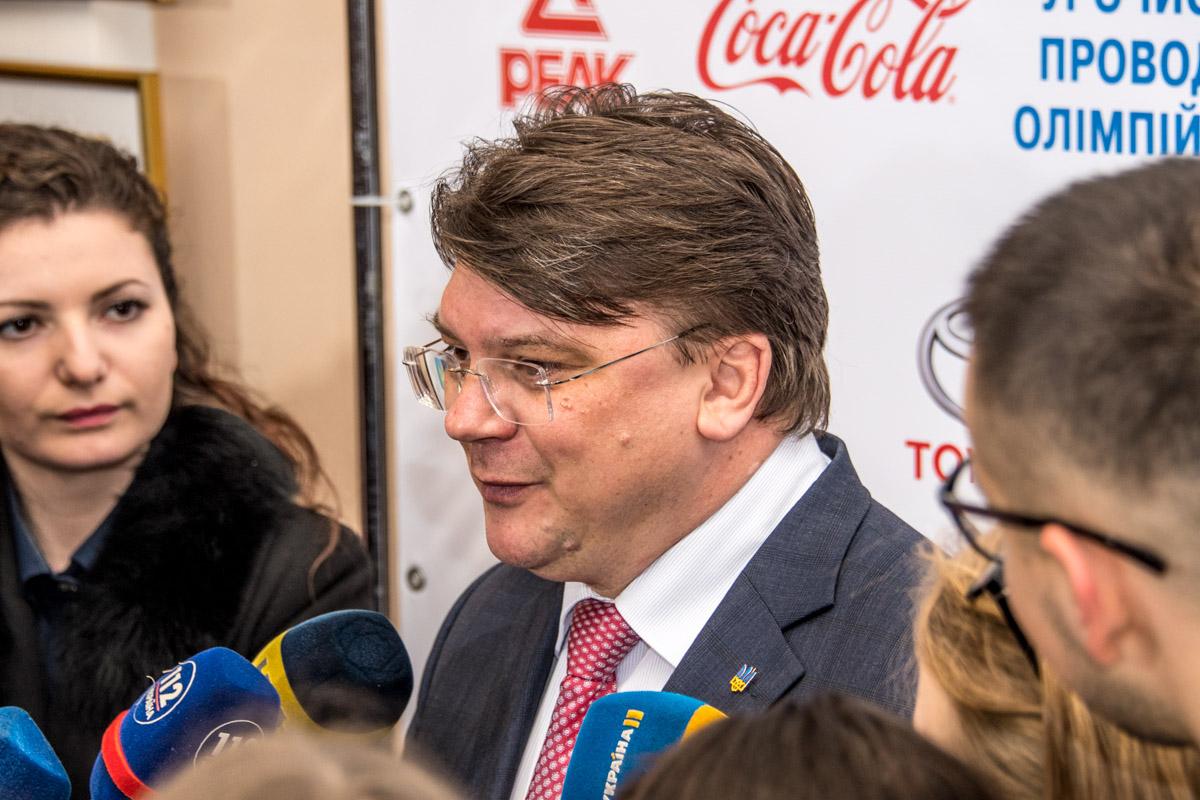 Министр спорта Игорь Жданов