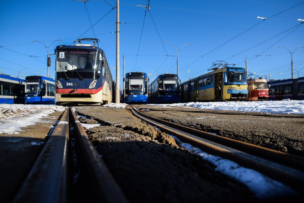 Из депо на маршрут выходит 51 трамвай