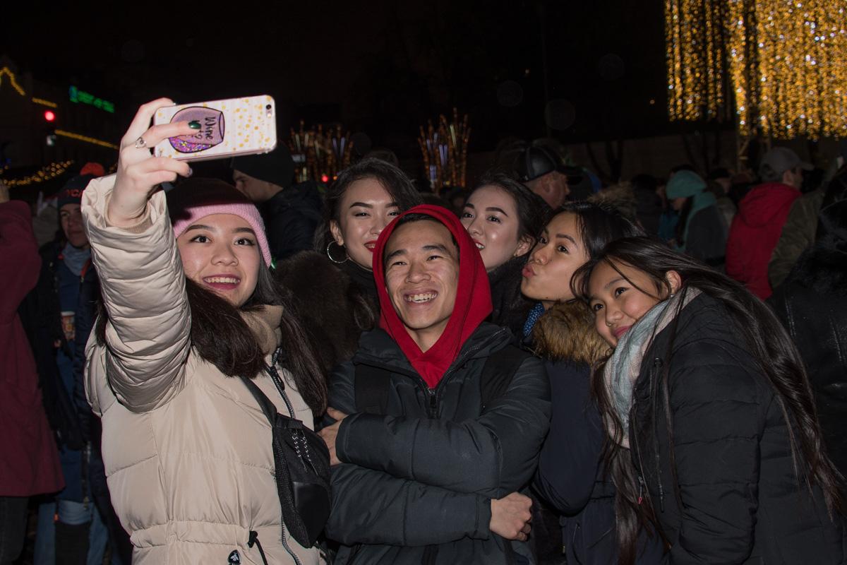 Первое совместное фото в 2018 году
