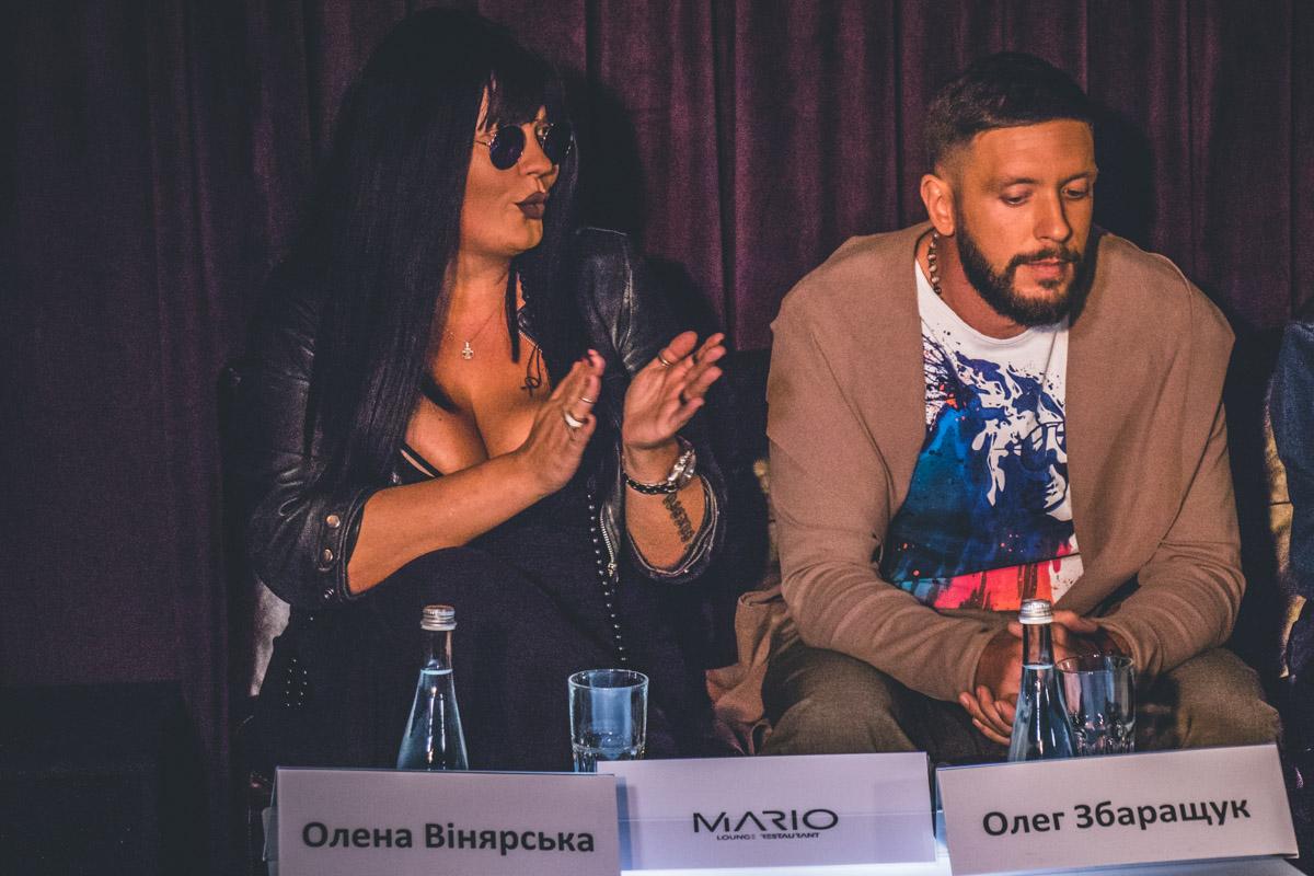 Вся команда Билык активно участвовала в пресс-конференции