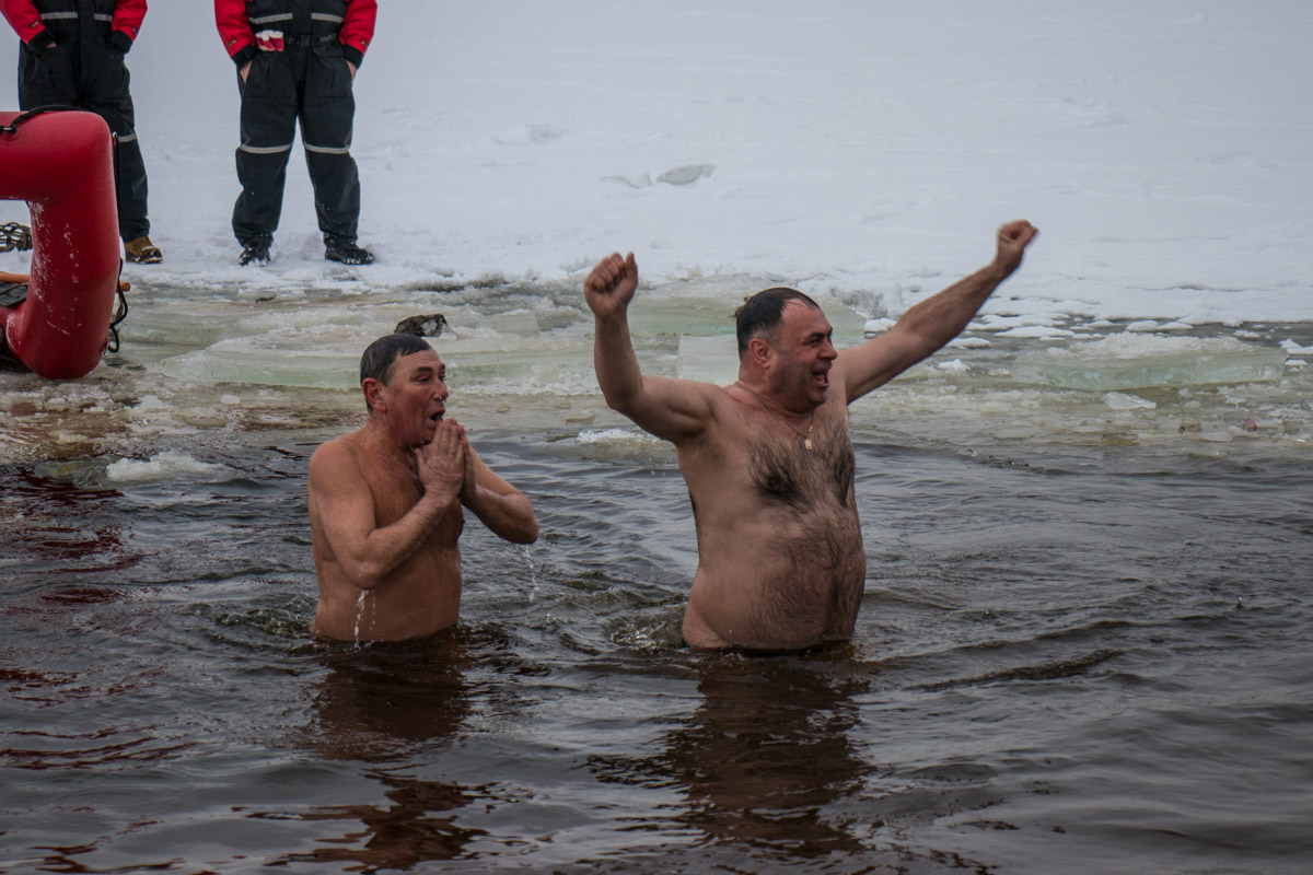 Радости от купания нет предела