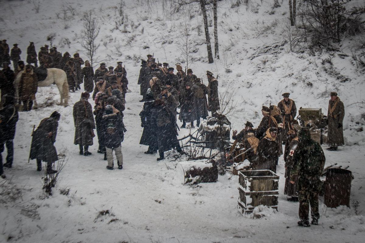 В одном месте собрались гайдамаки, студенты и солдаты УНР