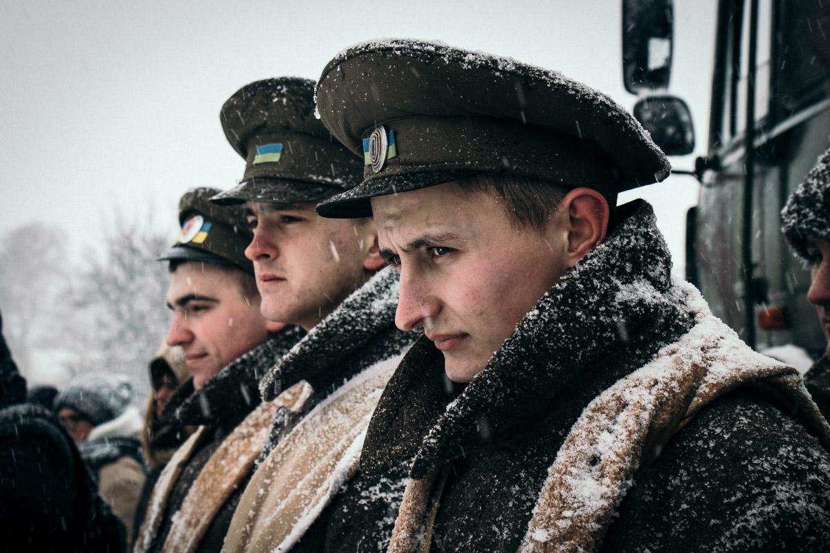 Солдаты Украинской Народной Республики