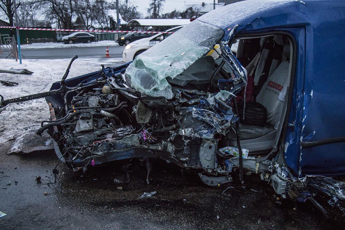 Водитель Volkswagen попытался избежать столкновения с пешеходом