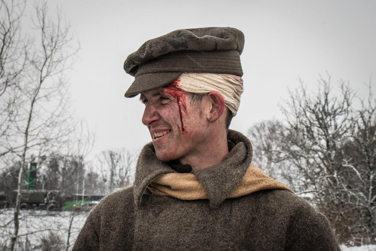 Для массовки в сценах боевых действий задействовали солдат Нацгвардии