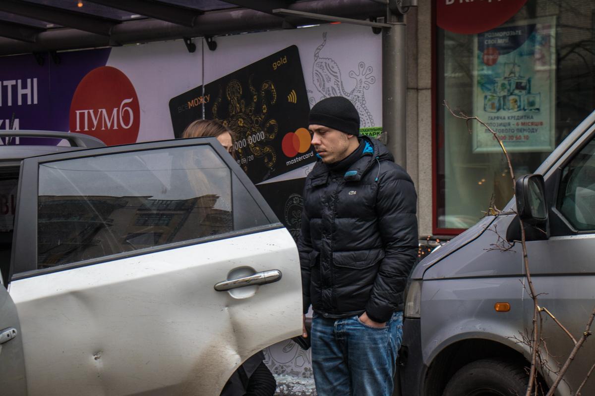 Водитель KIA Sorento пытался скрыть свою причастность к ДТП