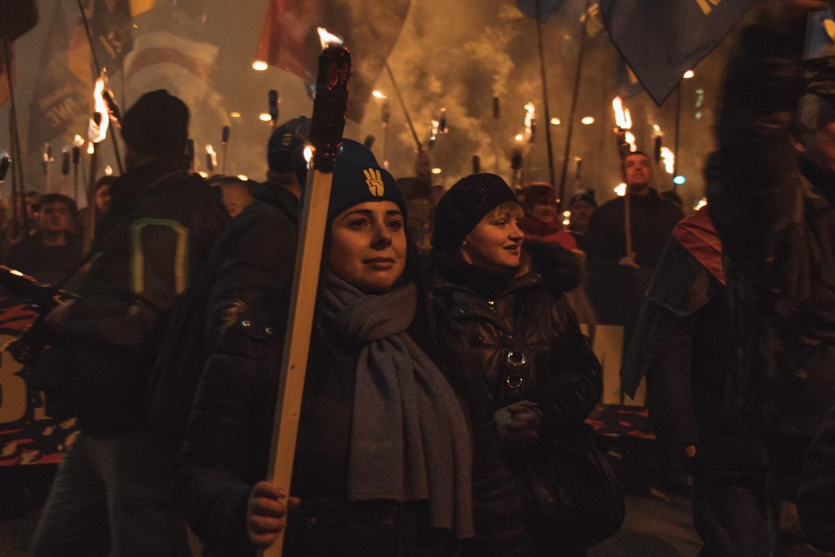 На марш пришли более 1000 человек