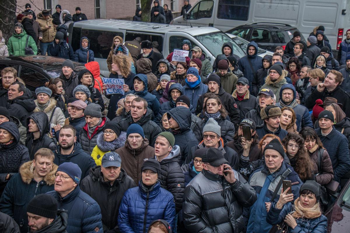 """Ирину знали лично не все, но все равно вышли на митинг, так как считают, что дело пытаются """"замять"""""""