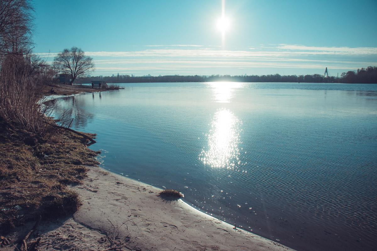 Когда солнце отражается в воде - это выглядит особенно романтично