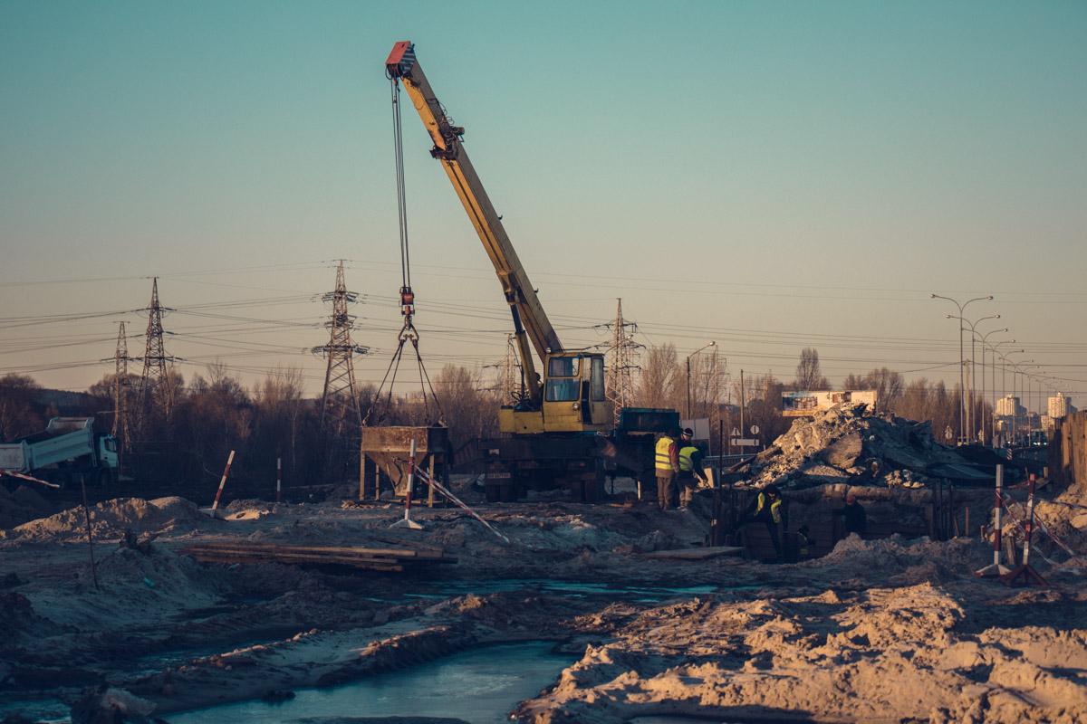 В столице продолжается строительство Большой окружной дороги